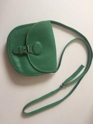 Zara Leder Crossbody Bag