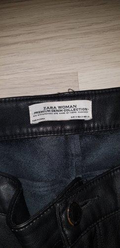 Zara Leder Hose