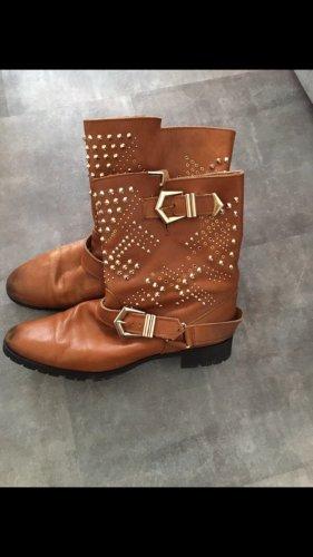 Zara Wide Calf Boots multicolored