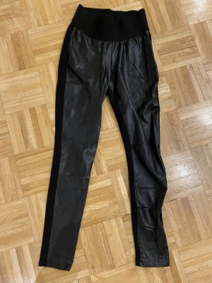 ZARA Lederhose Lederleggings XS Highwaist
