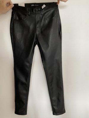 Zara Lederhose Skinny