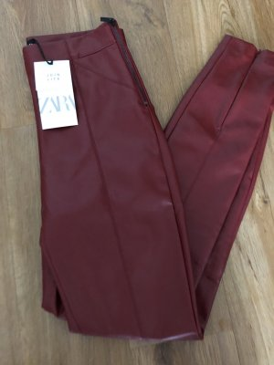 Zara Lederhosen Leggings