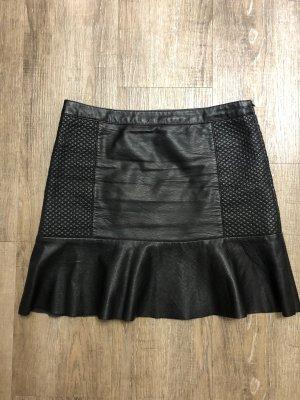 Zara Plaid Skirt black