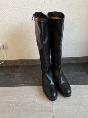 Zara Botas estilo militar negro