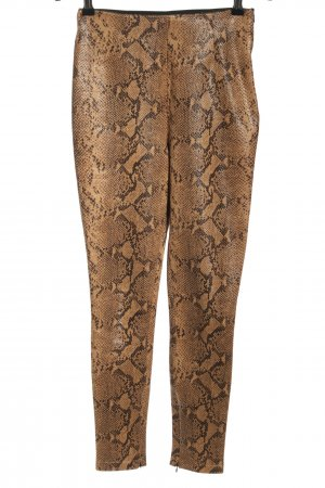 Zara Leggings Animalmuster extravaganter Stil