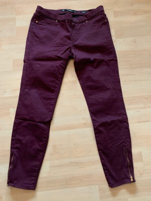 Zara Leggings aus Jeansstoff mit Gumibund