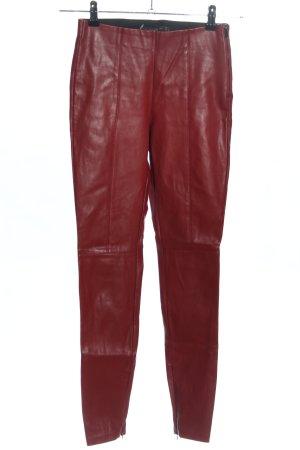 Zara Leggings rot Casual-Look