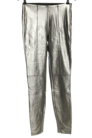 Zara Leggings silberfarben extravaganter Stil