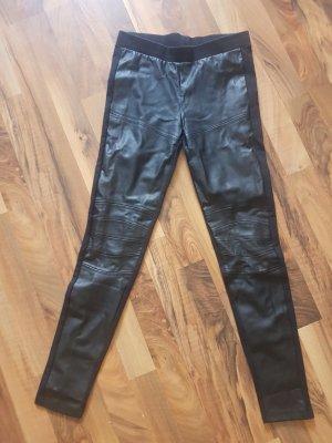 Zara Leggings schwarz --- Bikerstyle ---