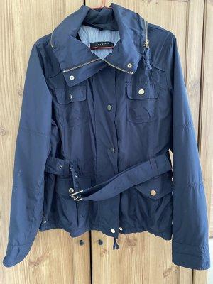 Zara leichte Jacke marineblau Größe XL