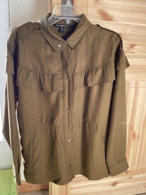 Zara Blouse Jacket khaki
