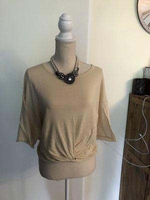 Zara Knit Sweter z krótkim rękawem Wielokolorowy