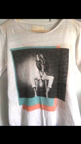 Zara Leinen Shirt Gr. M