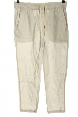Zara Linen Pants natural white casual look