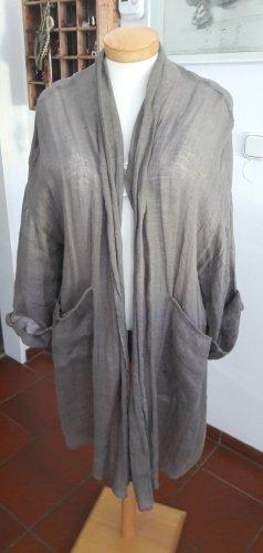 Zara Leinenjacke/ Bluse Gr. XL