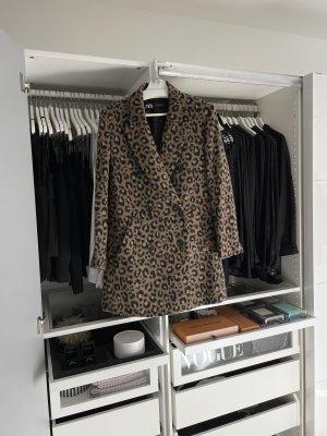 Zara Manteau mi-saison noir-brun