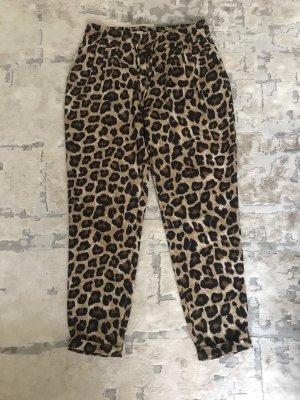 Zara Basic Pantalón de pinza alto multicolor