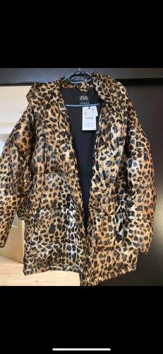 Zara Leoparden Jacke