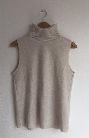 Zara Maglia a collo alto crema-beige chiaro