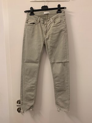 Zara light green jeans