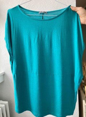 Zara Oversized Shirt cadet blue