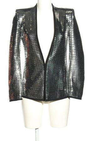 Zara Long-Blazer silberfarben Elegant