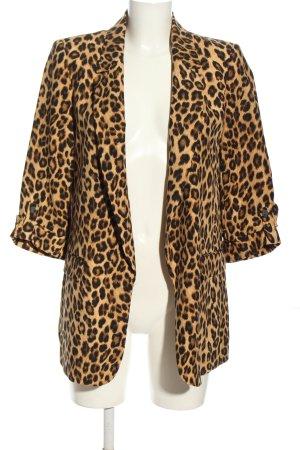 Zara Long-Blazer Animalmuster extravaganter Stil