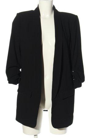 Zara Long-Blazer schwarz Business-Look