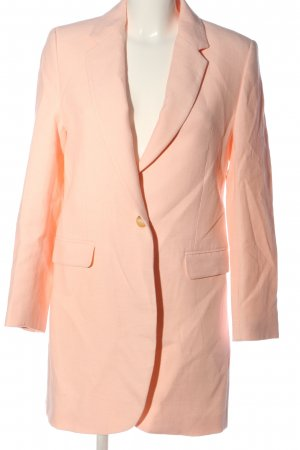 Zara Long-Blazer hellorange Business-Look