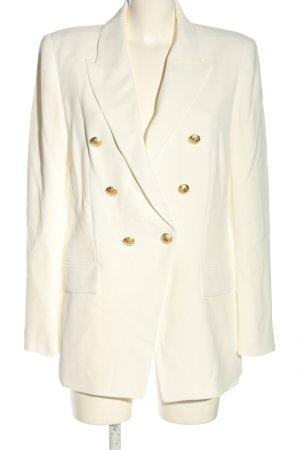 Zara Blazer lungo bianco stile professionale