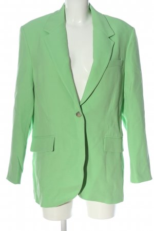 Zara Long-Blazer grün Business-Look