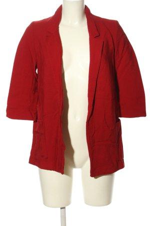 Zara Blazer long rouge style décontracté