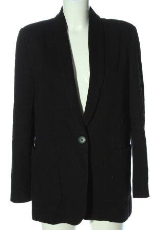 Zara Blazer lungo nero stile professionale