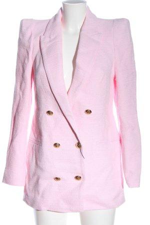 Zara Blazer lungo rosa elegante