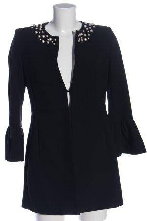 Zara Long-Blazer schwarz Casual-Look