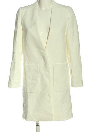 Zara Long-Blazer weiß Elegant