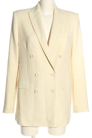 Zara Long Blazer cream business style