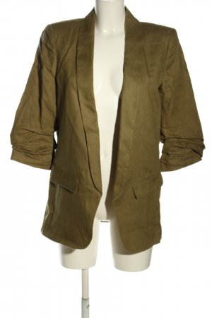 Zara Long-Blazer khaki Casual-Look
