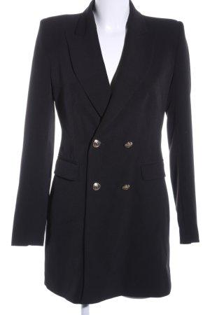 Zara Lange blazer zwart zakelijke stijl