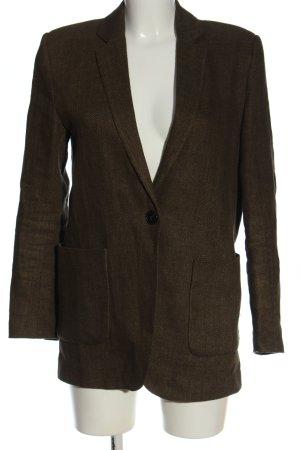 Zara Long-Blazer khaki Business-Look
