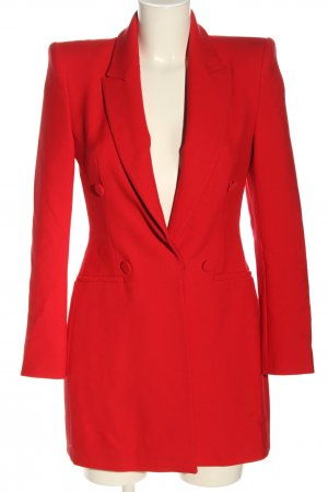 Zara Long-Blazer rot Business-Look