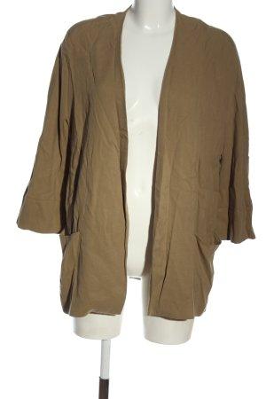 Zara Long-Blazer braun Casual-Look