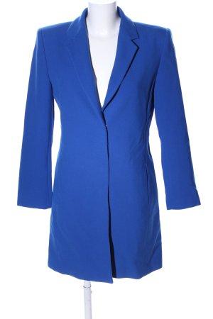 Zara Long-Blazer blau Casual-Look