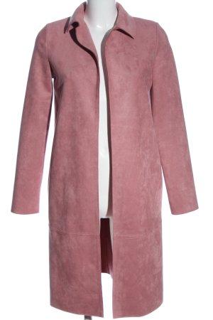 Zara Long-Blazer pink Casual-Look