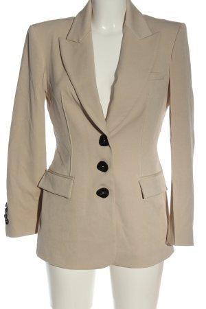 Zara Long-Blazer creme Business-Look
