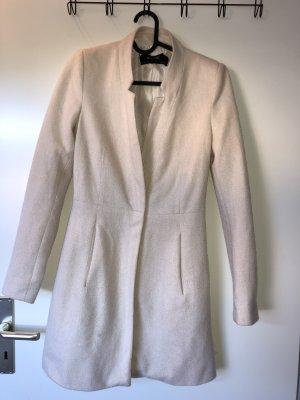 Zara long Blazer Mantel beige Gr. XS
