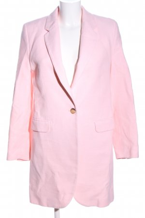 Zara Long-Blazer pink Casual-Look
