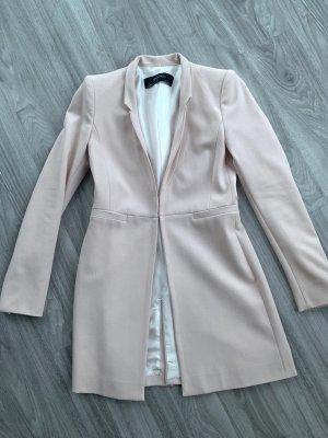 Zara Long-Blazer rosa