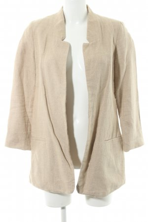 Zara Long-Blazer sandbraun Casual-Look