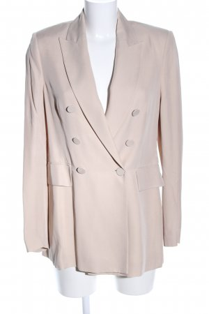 Zara Long-Blazer wollweiß Business-Look
